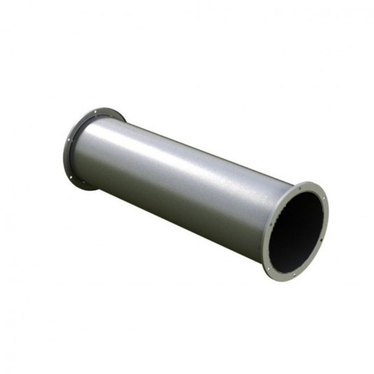 Tubo de acero inoxidable DN 130/130/mm L de 500/Chimenea saneamiento humo Tubo Horno Tubo Tubo de escape