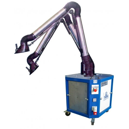 Extractores Portátiles de Humos para Soldaduras y Humos Químicos | Tama Aernova