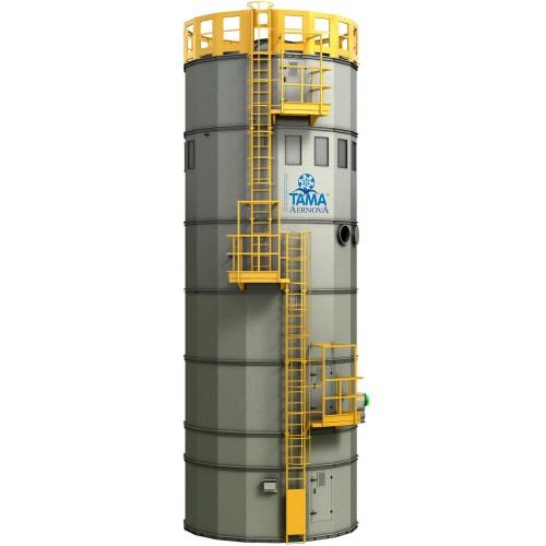 Silo Con Sistema De Filtración para Cemento y Polvo | Descubre nuestros filtros