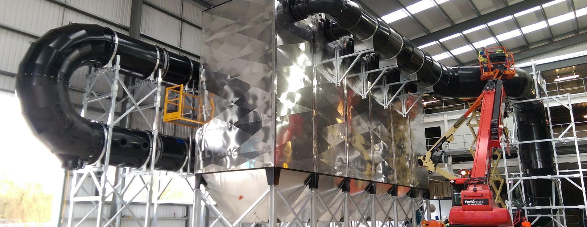 Sistemas de filtración industrial.